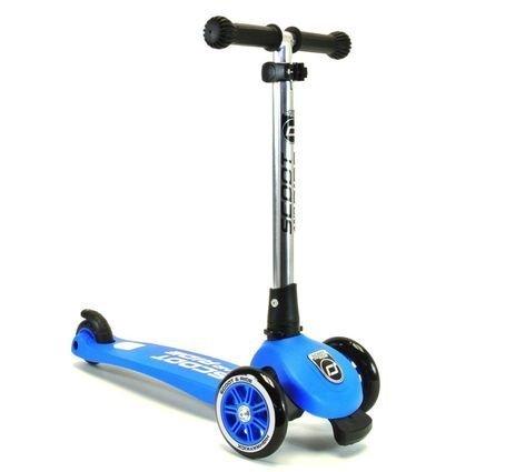 detskiy trehkolesniy skladnoy samokat ScootlRide Highwaykick 3 blue