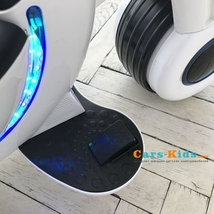 Детский электромотоцикл HL300 White 6V - HL300 (музыка, световые эффекты, мягкие колеса EVA)