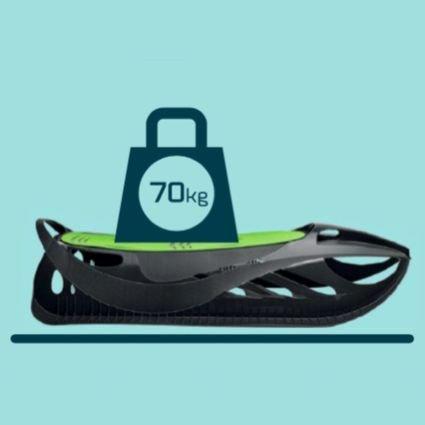 Санки Gismo Riders Neon Grip (Чехия, от 3х лет, до 70кг)
