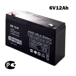 Аккумулятор 6v 12ah GS
