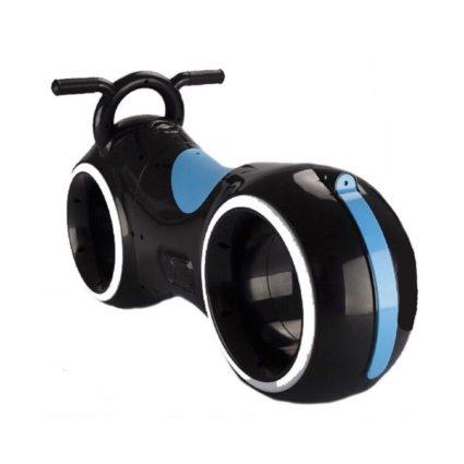 Беговел Star One Scooter - DB002 черно- синий (устойчивые колеса, подсветка, музыка)